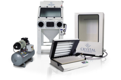 Some of our professional glass engraving equipment